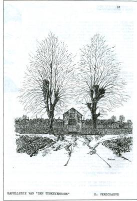 Pentekening kapel, Gits