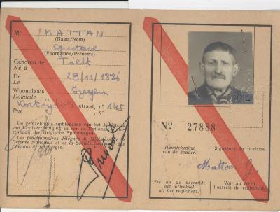 Oudstrijderskaart 1914-1918