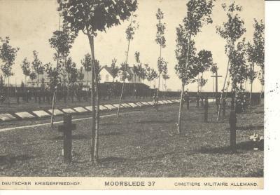 Postkaart Duits kerkhof (3)