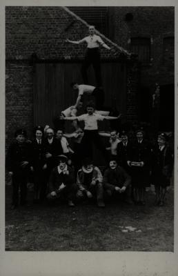 Groepsfoto, 1946