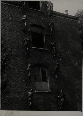 Brandweeroefening, 1945-1946?