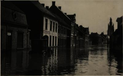 Overstroming Roeselare, mei 1925