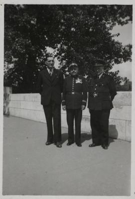 Bezoek Parijs, juli 1946