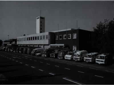 Wagenpark brandweer, 1993