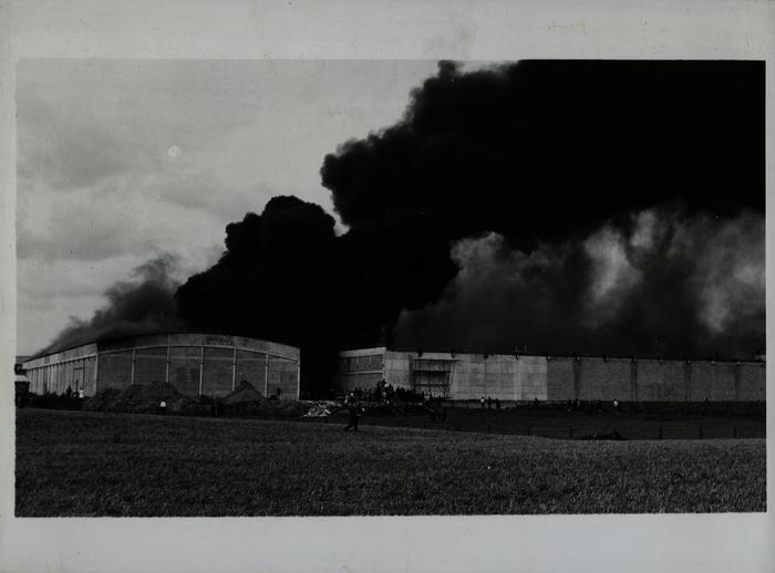 Brand bij Dumont-Wyckhuyse, 1966