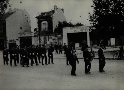 Begrafenis Louis Debruyne, 1951