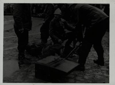 Brandweeroefening, 1931