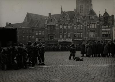 Brandweeroefening, 1938