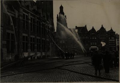 Brandweeroefening, 1936