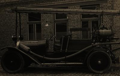 Eerste autopomp, +-1925