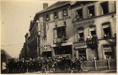Demonstratie (?), Molenbeek, 1929