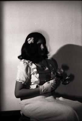 Plechtige communie Chantal Dujardin, Moorslede april 1978