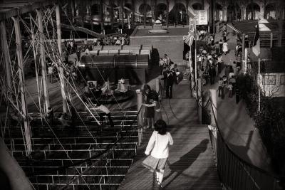 Overzichtsfoto's van het speelplein, Dadizele april 1978