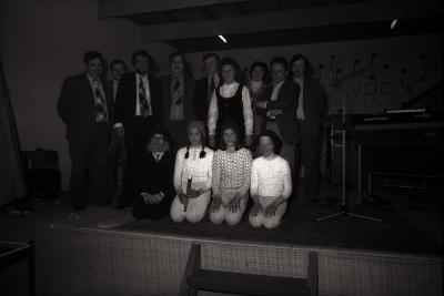 'Zangcrochet' (zangwedstrijd), Slypskapelle januari 1978