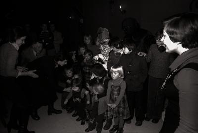 Sinterklaas bij 'The Rangers', Moorslede december 1977