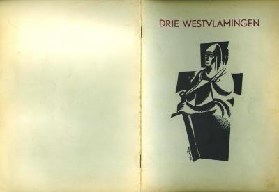 Huldiging drie Westvlaamse idealisten, Roeselare, 1955