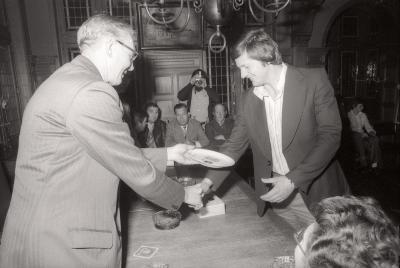 Volkstuinen: bebloemingswedstrijd, Moorslede september 1977