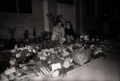 Opbrengst 'Volkstuinen', Poelkapelle september 1977