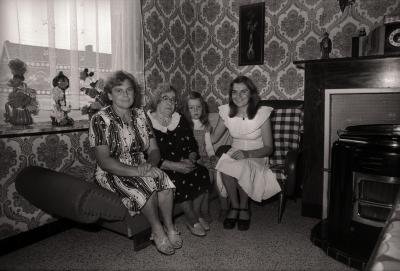 Viergeslacht op wijk Waterdam, Moorslede augustus 1977