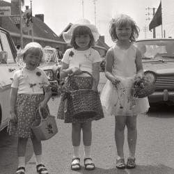 Wijkfeesten op wijk De Ruiter, Roeselare juli 1977