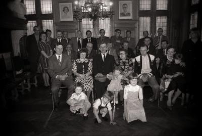 Gouden bruidspaar, Moorslede juni 1977