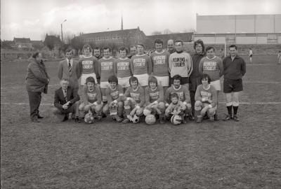 Voetbalploegen The Rangers, Moorslede april 1977