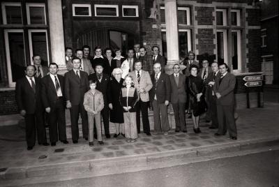 Gouden bruiloft, Moorslede mei 1977