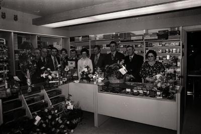 Opening Tabakshop, Moorslede 1977