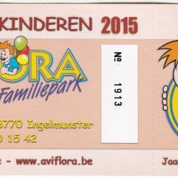 Jaarabonnement kinderen 2015 Aviflora