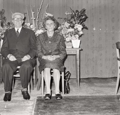 Gouden bruiloft Jozef Belaen - Celina Vanacker, Moorslede oktober 1971