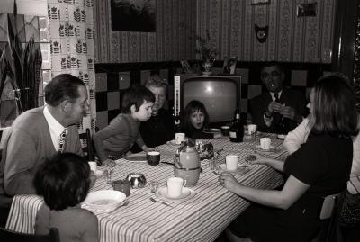 Verjaardagsfeest van Hilde, Moorslede mei 1974