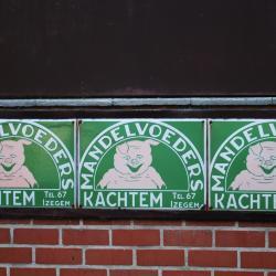 Oude logo's firma Deleclean, Izegem