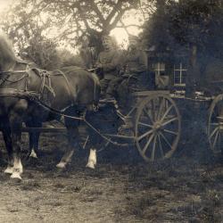 Veldkeuken, Emelgem, 4 augustus 1915