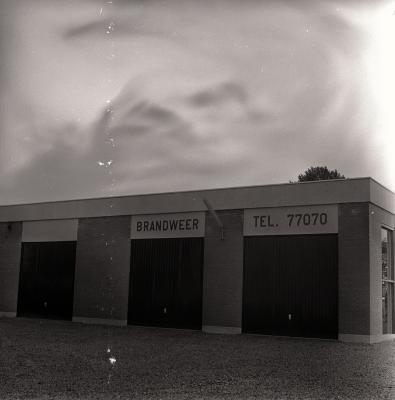 Brandweerarsenaal, Moorslede augustus 1973