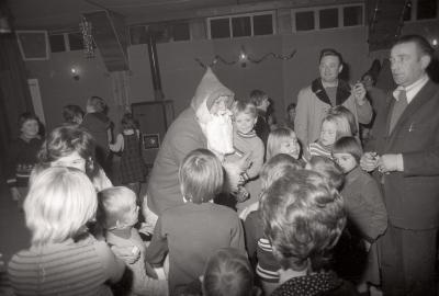 Kerstman bij socialisten, Moorslede december 1976