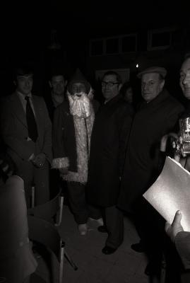 Kerstman bij socialtisten, Moorslede 1976