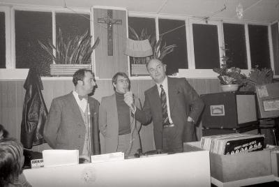 Wielrenner Lucien Van Impe te gast, Slypskapelle 1976