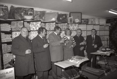 Opening winkel J. Quartier, Moorslede 1976