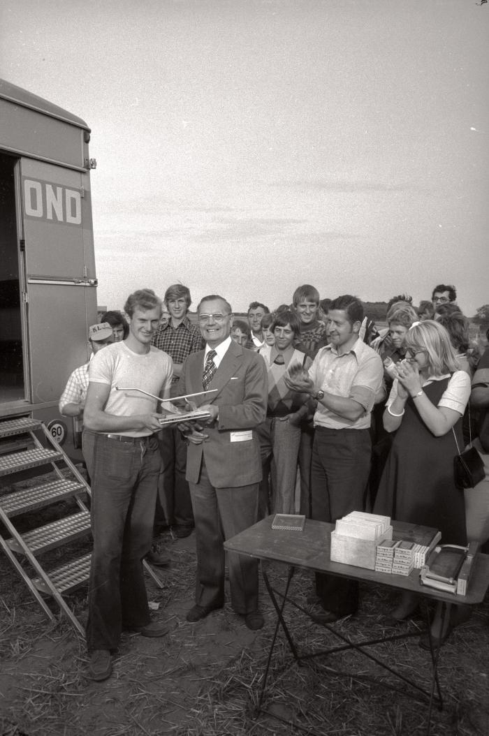 Provinciale ploegkampioenschappen, Westrozebeke augustus 1976