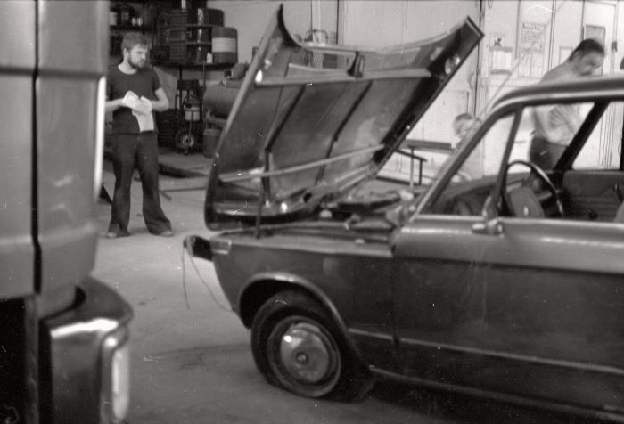 Auto van Marc Saelens, Moorslede augustus 1976