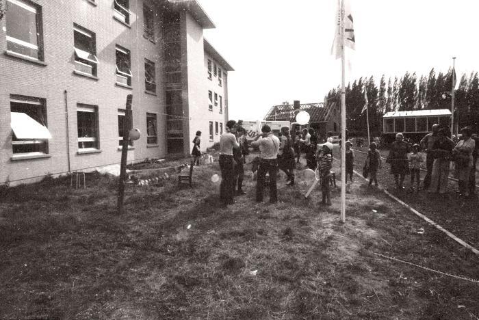 15 jaar meisjeschiro, Staden augustus 1976