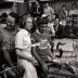 Avond van Vlaanderen: renners poseren, Moorslede augustus 1976