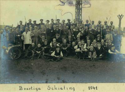 Boogschutters schuttersgilde Sint-Sebastiaan, 1941