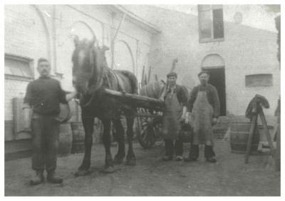 Brouwerij M. Devisscher, Ingelmunster, omstreeks 1939