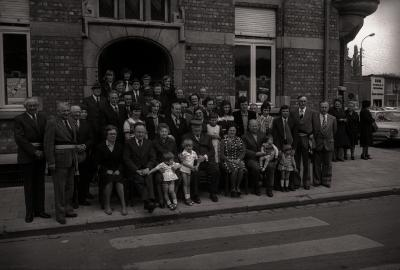 Gouden bruiloft familie Pecceu, Staden 1976