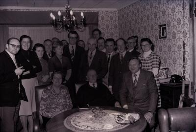 Gouden bruiloft, Moorslede 1976