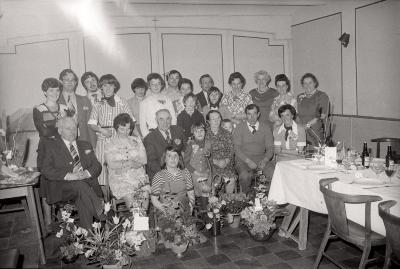 Gouden bruiloft familie Vanslambrouck, Moorslede april 1976