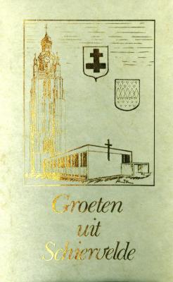 Herinnering aan kapel van Schiervelde, Roeselare