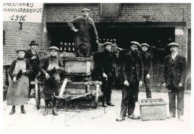 Brouwerij Van Honsebrouck, omstreeks 1916