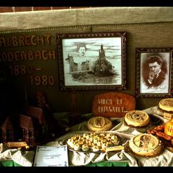 Dessertbuffet herdenking Albrecht Rodenbach
